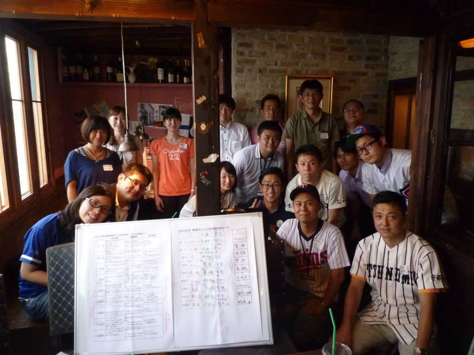 第2回授業『野球ポジション別性格分析~性格的最強ベストナインは!?~』2013.7.6の報告