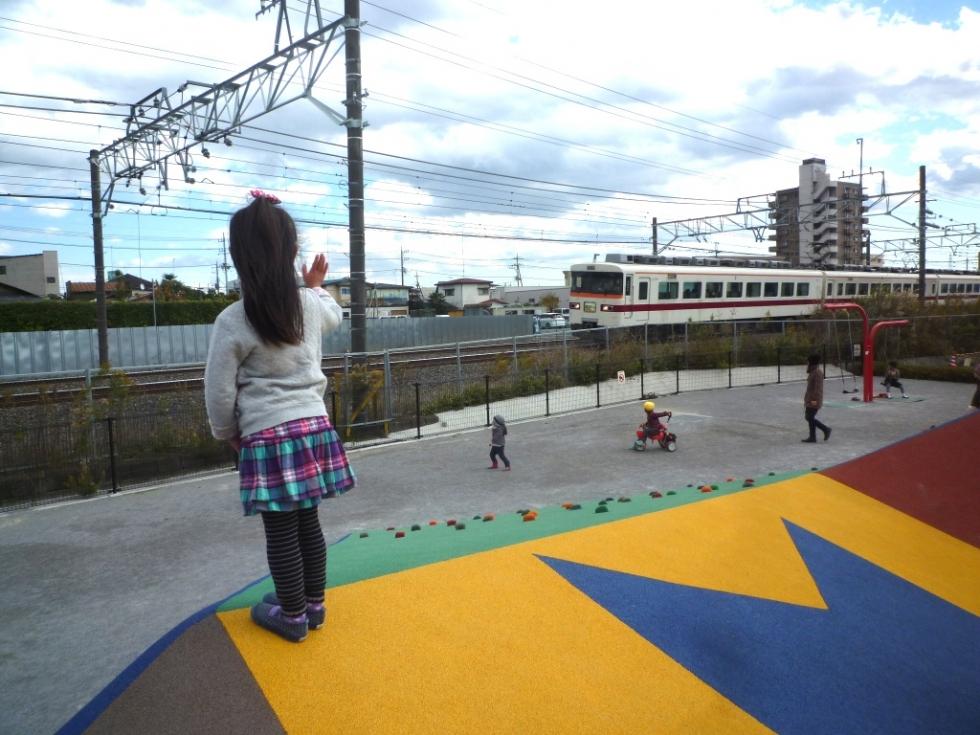第21回授業『東武電車に手を振ろう!~車窓越しのコミュニケーション~』開催日3月7日